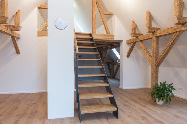Dachgeschoss Trockenbau Treppen